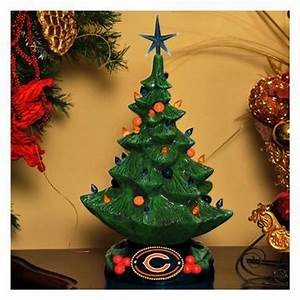 NFL Lighted Christmas Tree Sports Fan Gifts at