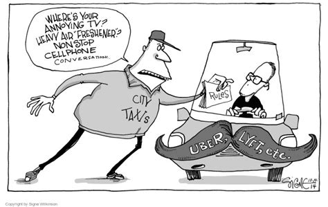 The Lyft Editorial Cartoons