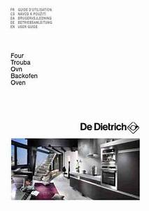 De Dietrich Dop705x Oven Download Manual For Free Now