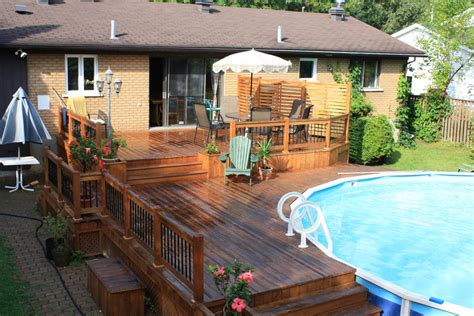 patio and pool deck ideas above ground pool decks pool contemporary with berkshire