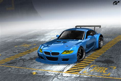 Bmw Z4 M Coupe By Sasuke024  Need For Speed Pro Street