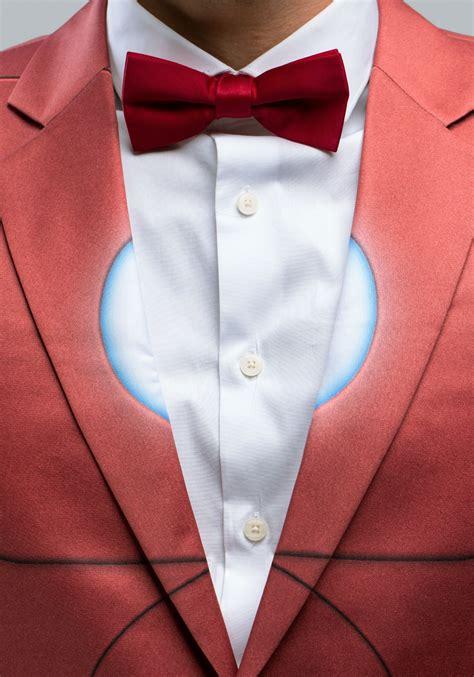alter ego iron man slim fit suit jacket  men