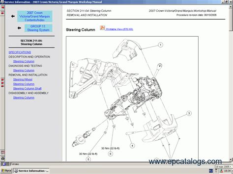 online car repair manuals free 2007 ford expedition el parking system ford usa technical services 2007 2008