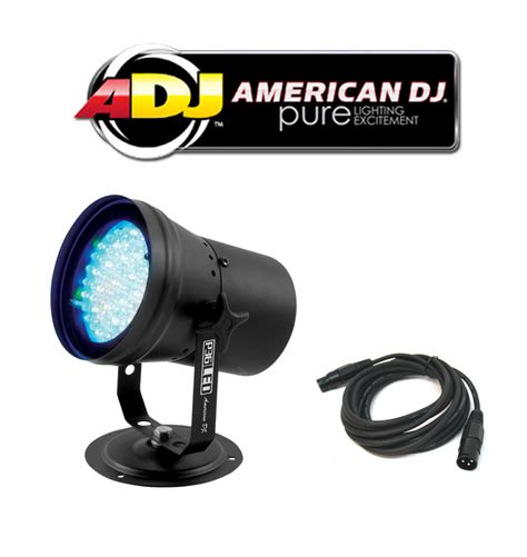dj lighting packages american dj lighting p36 led multi color dmx stage wash