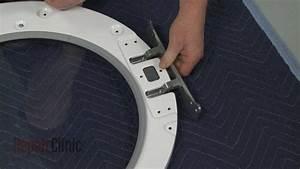 Whirlpool Alpha Electric Dryer Door Hinge Replacement