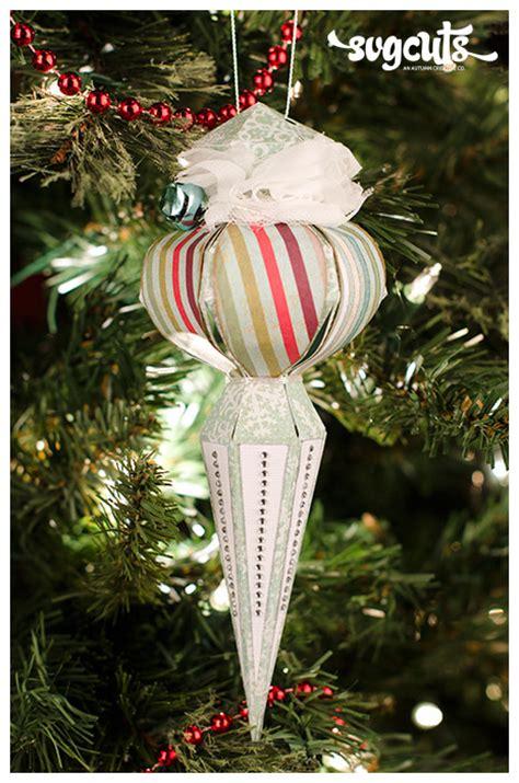 Christmas Ornament Box Svg  – 480+ SVG Cut File