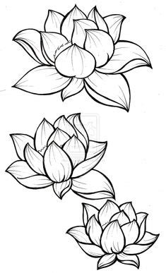 The lotus represents beauty coming out of darkness because a lotus' roots go deep into the dark