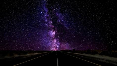 Blue Pink And Purple Wallpaper Road To The Stars Wallpaper Engine Youtube