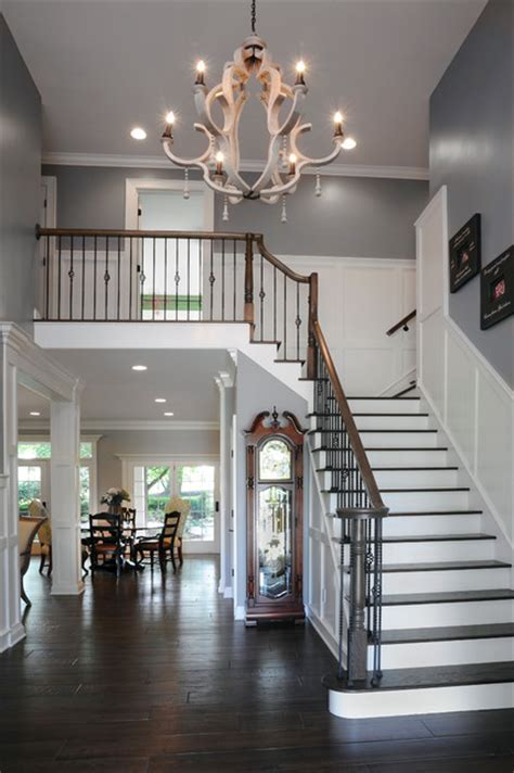 A Whole House Transformation   Traditional   Staircase