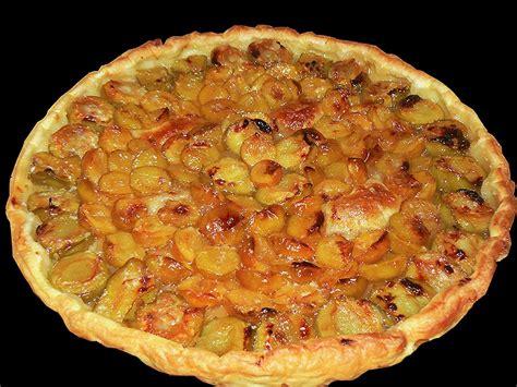 tarte aux reine claude et mirabelles une cuisine pour voozenoo