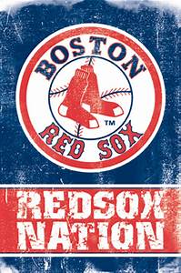 Boston Red Sox Baseball Poster, Inexpensive Cheap Fan ...