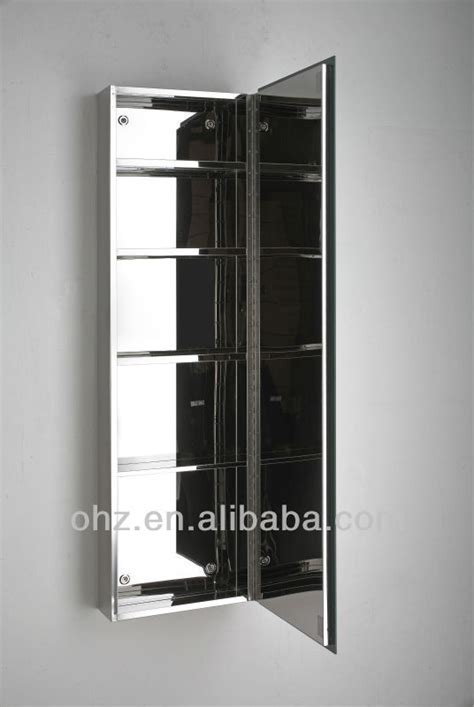 Tall And Thin Bathroom Mirror Cabinet 7057   Buy Mirror