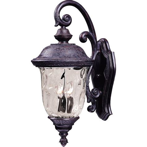 maxim lighting carriage house dc outdoor wall mount
