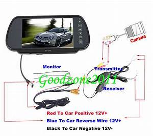 2019 18 Ir Wireless Reversing Camera   7 Lcd Monitor Mirror Car Rear View Kit From Shenghesheng