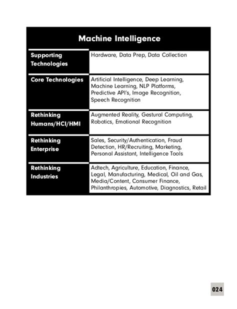 Machine Intelligence: An executive introduction (ENG)