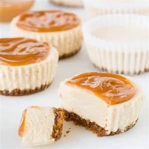 Chai Latte No-Bake Mini Cheesecakes ~Sweet & Savory by Shinee