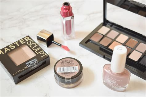 My Favourite Maybelline Products When Tania Talks