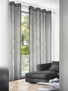 ösen Gardinen Grau : elegante gardinen senschal grau silber gardinen outlet ~ Frokenaadalensverden.com Haus und Dekorationen