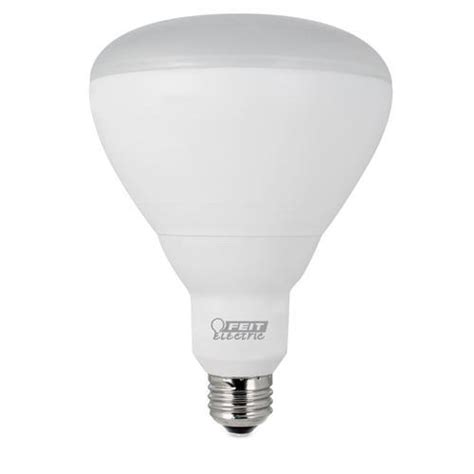 feit led dimmable br40 reflector light bulb at menards 174