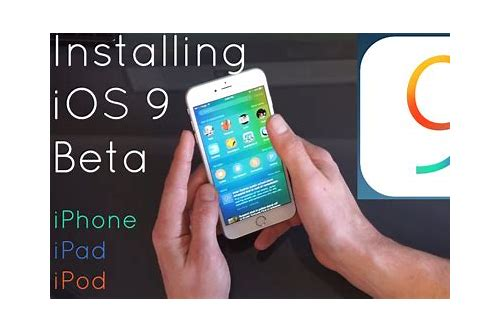 Ios 9 beta download without udid :: leediterwa