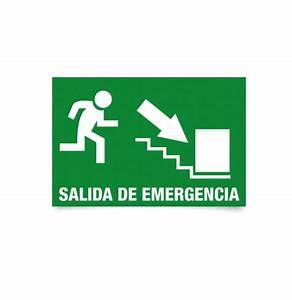 Pegatina salida de emergencia modelo 05