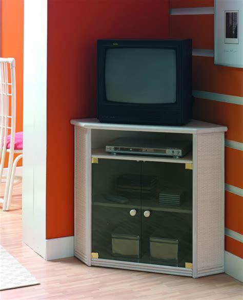bureau angle blanc meuble tv d 39 angle en rotin brin d 39 ouest