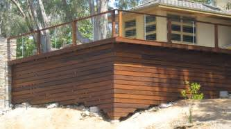 Metal Deck Skirting Ideas Stainless Steel Railing Posts Contemporary Deck Other Metro By San Diego Cable Railings