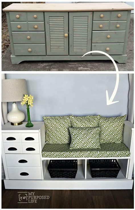repurposed furniture  dresser ideas  makeovers