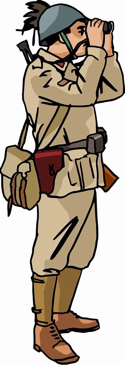 Soldier Clipart Clip War Ww2 Italian Cliparts