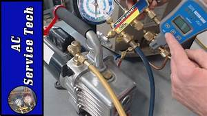 Vacuum Pump Hookup  Micron Level  Breaking The Vacuum With