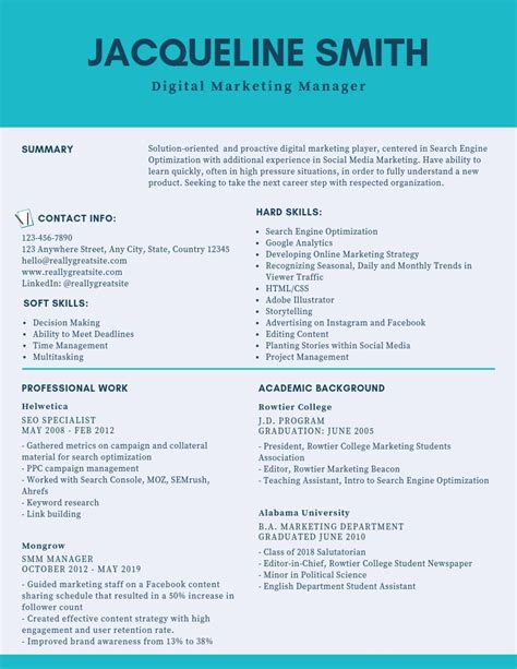 Sle Resume For Digital Marketing Manager by Digital Marketing Manager Resume Sles Templates Pdf
