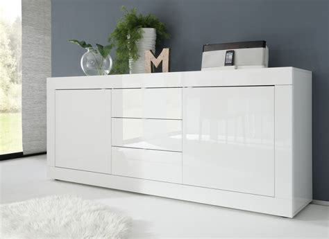 High Sideboard by Urbino Collection Sideboard Two Doors Three Drawers
