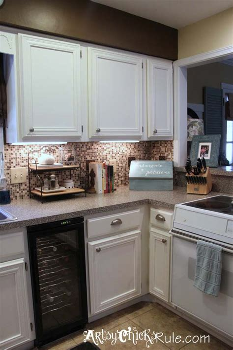 kitchen cabinets painted with sloan chalk paint kitchen cabinet makeover sloan chalk paint artsy 9861