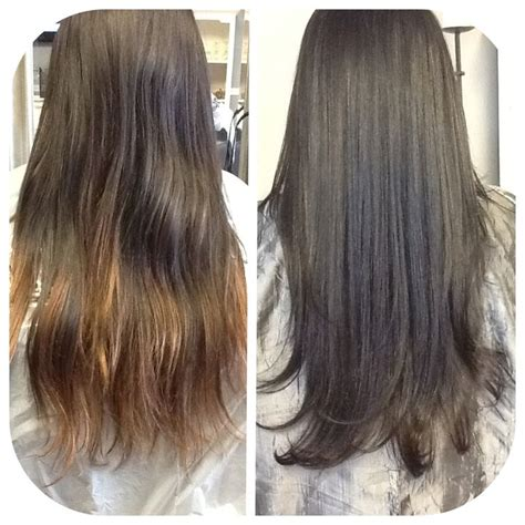Sun In Brown Hair by From Sun Kissed Ombre To A Brown Lmg