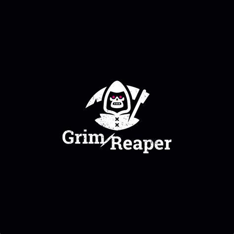 sale grim reaper logo design logo cowboy