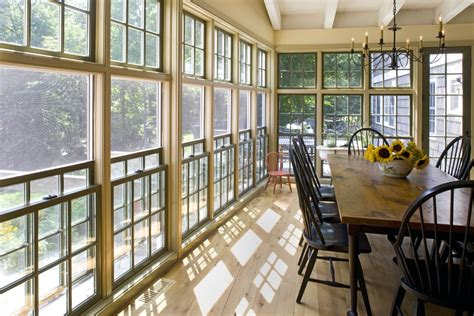 philadelphia sunroom window treatments porch dining room