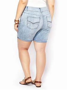D C Jeans Slightly Curvy Fit Bermuda Denim Short Penningtons