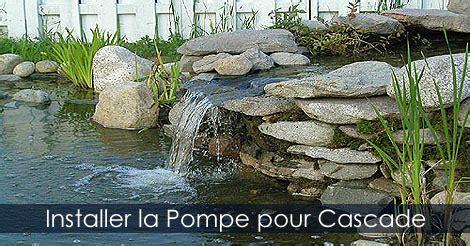 Pompe Bassin Cascade Pompe Pour Cascade De Bassin Construire Une Cascade D Eau