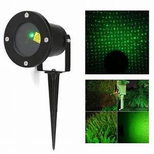 Laser Beleuchtung Aussen : gr n laser projektor laserlicht beleuchtung wasserdicht garten deko weihnachten ~ Watch28wear.com Haus und Dekorationen