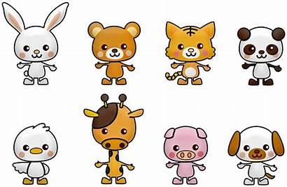 Panda Kawaii Bear Pixabay Clipart Dessin Rabbit