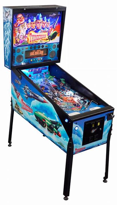 Pinball Machine Clipart Thunderbirds Clip Rescue