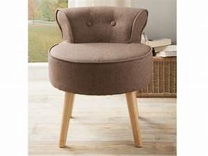 Petit Fauteuil Confortable : petit fauteuil crapaud en tissu 4 coloris savea ~ Teatrodelosmanantiales.com Idées de Décoration
