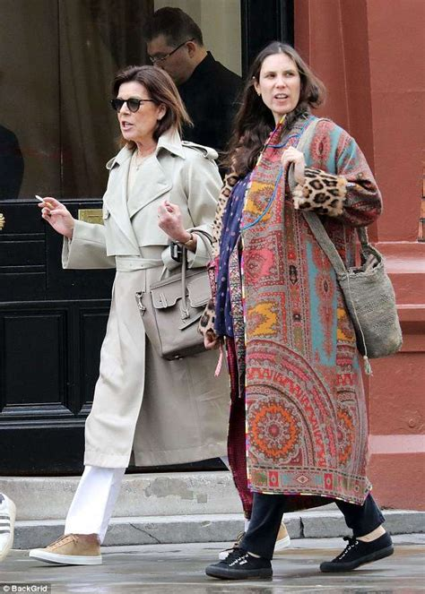 Princess Caroline of Monaco enjoys a day in London with ...
