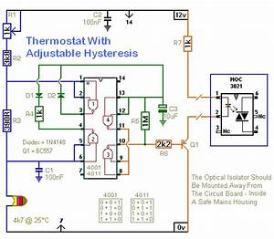 A Thermostat With Adjustable Hysteresis