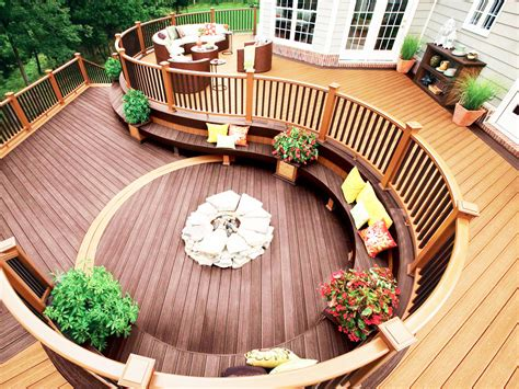 The Most Beautiful Backyard Deck Designs Homefurnitureorg