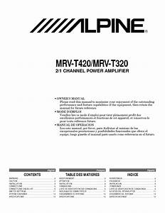 Mrv-t420 Manuals
