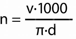 Geschwindigkeit Berechnen Mathe : autoschrauber de schnittgeschwindigkeit und drehzahl ~ Themetempest.com Abrechnung