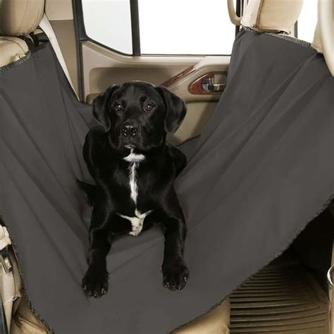 Back Seat Hammock For Dogs by Canine Covers 174 Dsl1001gy Gray Rear Seat Hammock