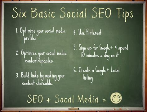 uncomplicated social seo tips  small businesses
