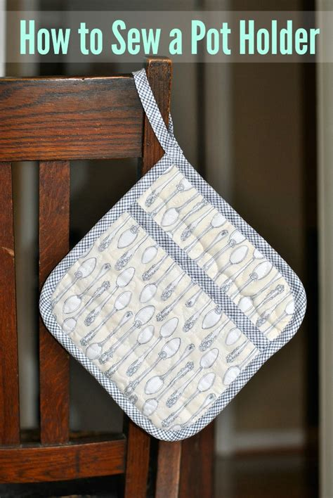 sew  quilted pot holder  craftsy